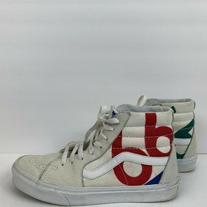 Vans Sk8 Hi Deck Club 66 Sail High Top Skate Shoes